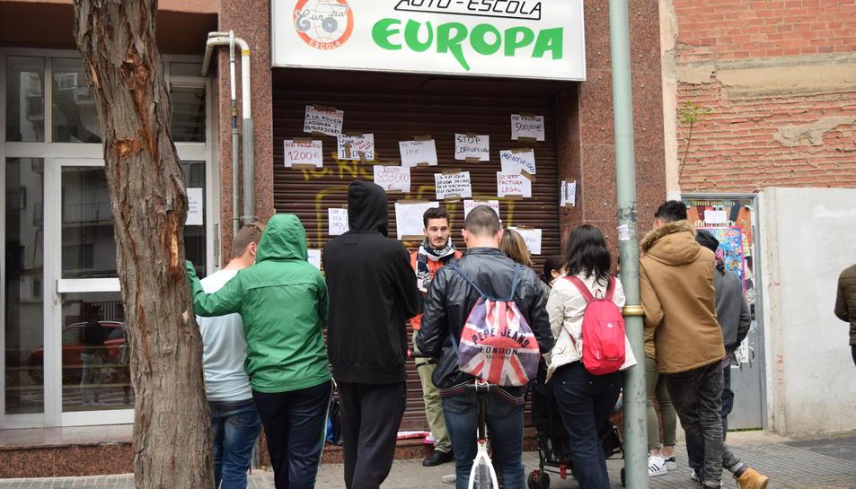 Altres centres acullen afectats de l'autoescola Europa, però el cost econòmic encara està per resoldre