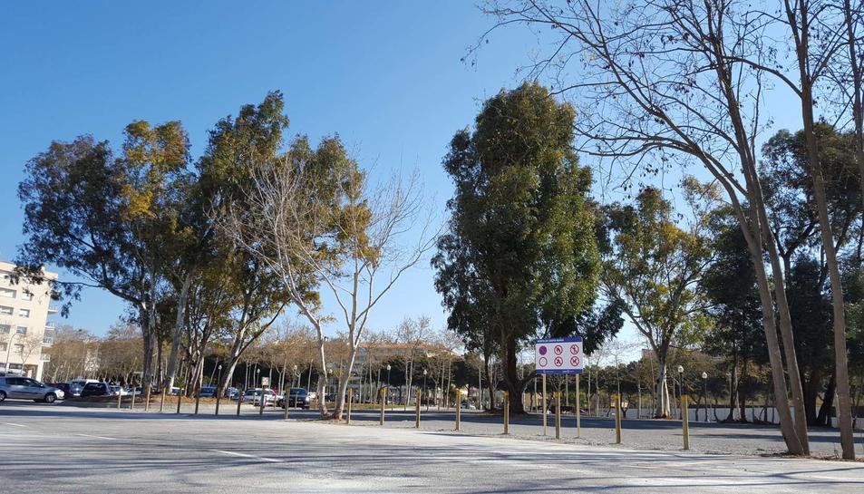 Treballs de millora adeqüen l'aparcament d'Horta de Santa Maria de Cambrils