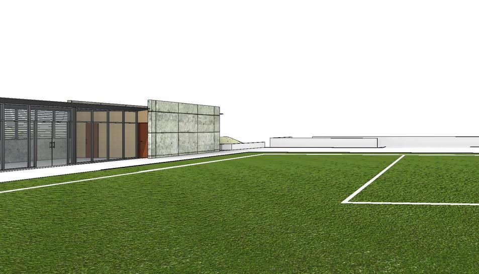Falset millorarà les instal·lacions del camp de futbol municipal