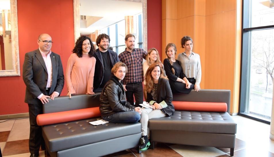 La adaptación moderna de 'Romeo y Julieta', dirigida por el tarraconense Marc Chornet, se estrena en el Teatro de Tarragona