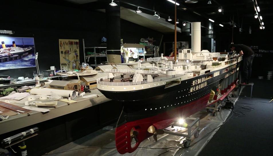 El Titanic salparà des de Tarragona