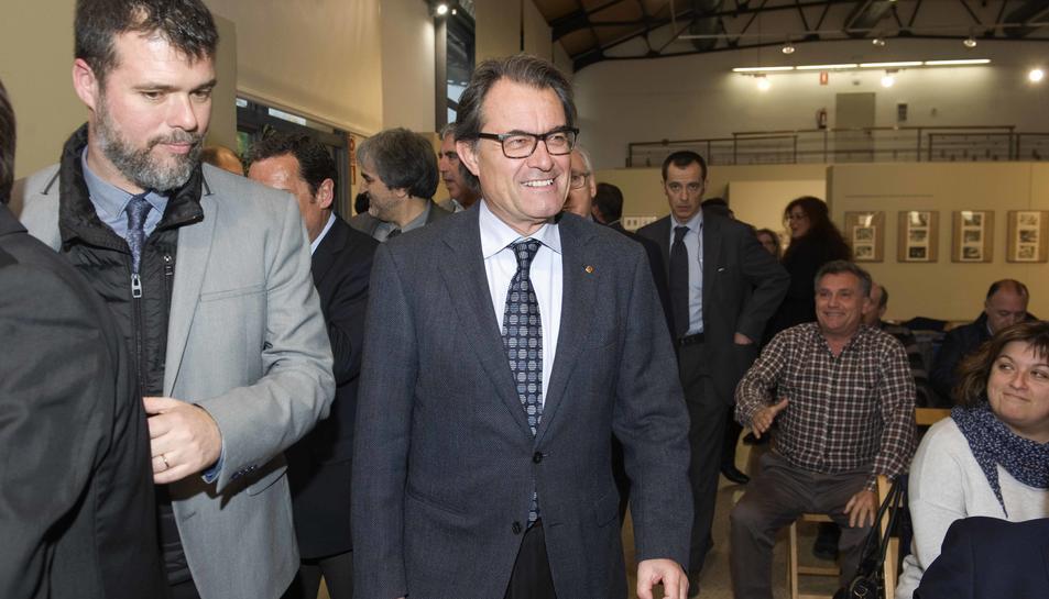 Mas demana a Tarragona molta participació en la renovació de CDC