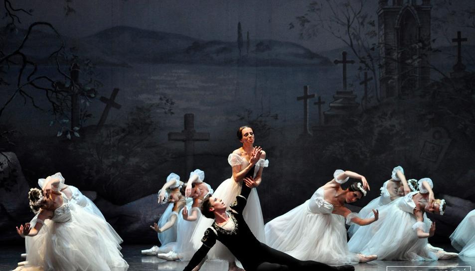 El Ballet de Moscú porta Giselle a Tarragona