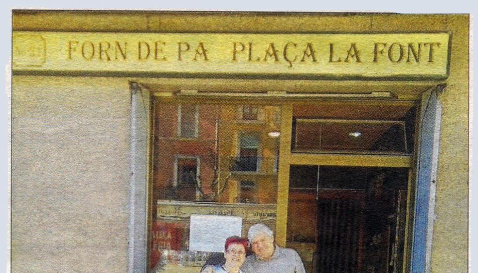Tanca el Forn de Pa de la plaça de la Font per jubilació.