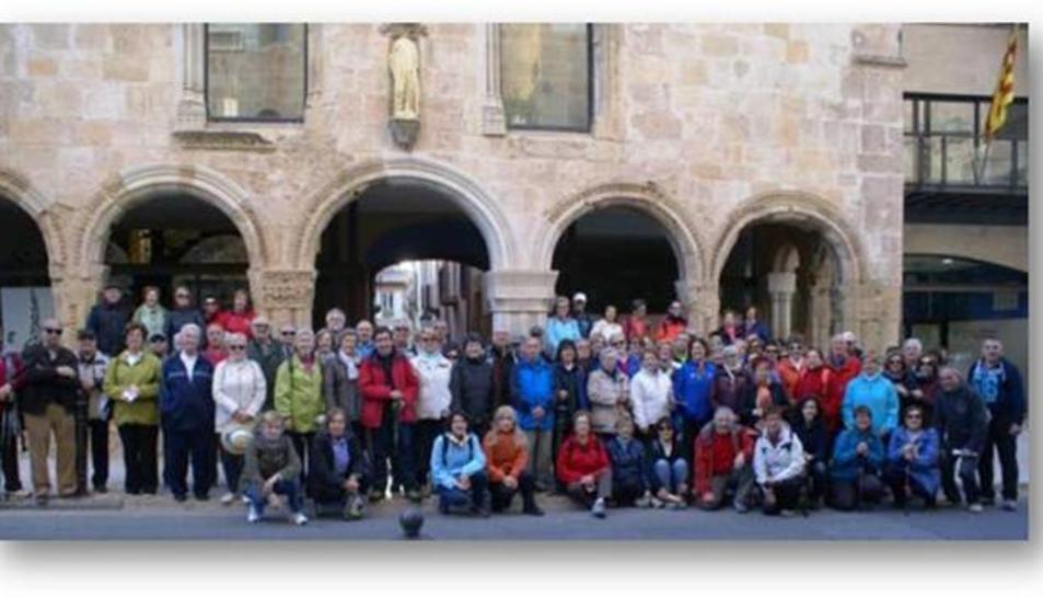 165 persones participen a la caminada de primavera del Camí de Ronda de Salou