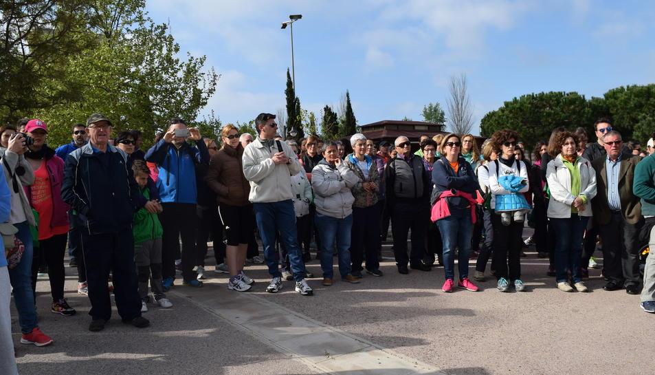 Sensibilitzar i informar a la societat del dia a dia d'un malalt de Parkinson. Aquest era l'objectiu principal de la setena edició de la caminada Run for Parkinson, que va organitzar ahir l'Associació Parkinson de les comarques de Tarragona.