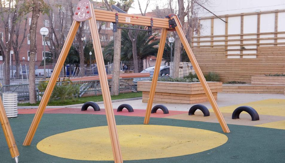 Els veïns de Bonavista demanen que es tanqui el parc infantil