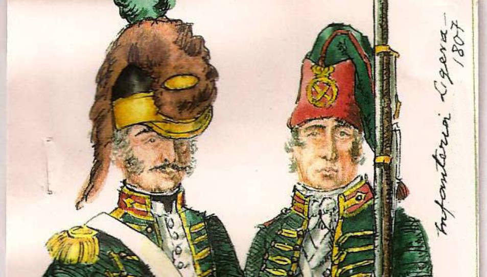 Recuperen la vestimenta dels Voluntaris de Tarragona de 1802