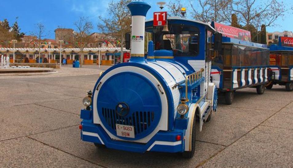 El trenet turístic de Salou canvia de recorregut i passa a durar dues hores
