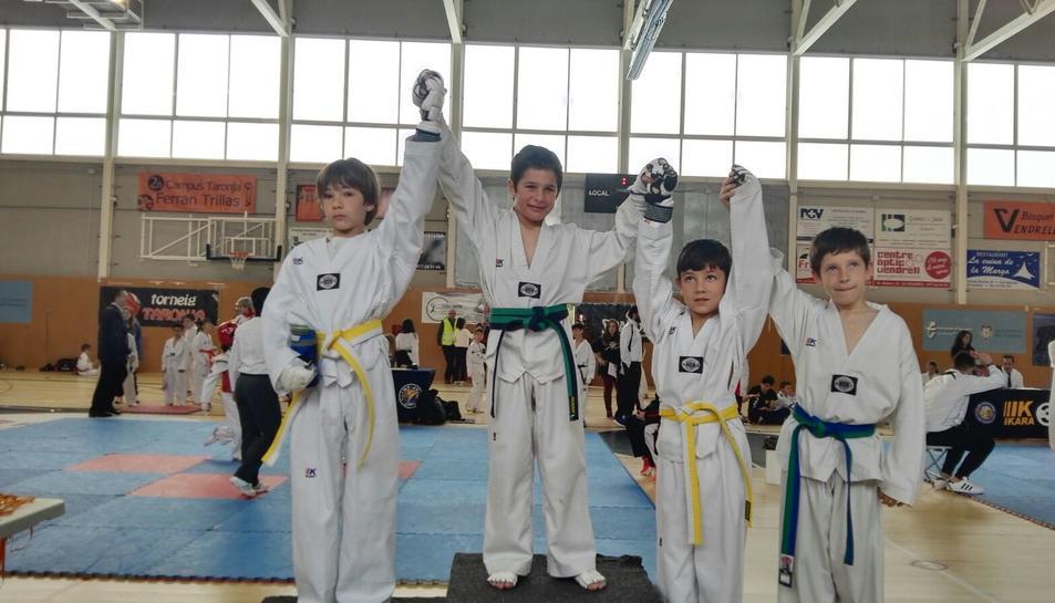 Coma-ruga acull el 1r Trofeu Vila de Bellvei de Taekwondo