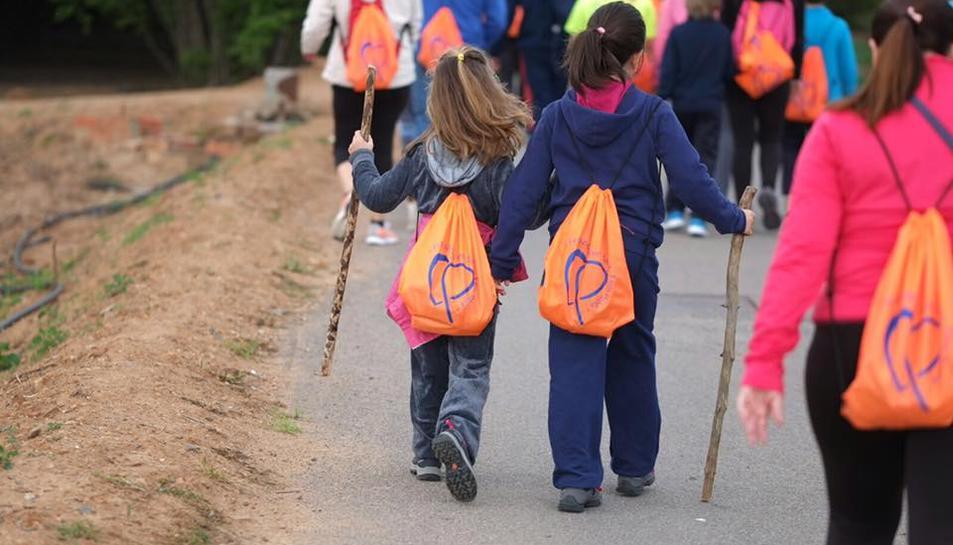 La Pobla de Mafumet celebra el Dia Mundial de l'Activitat Física amb una caminada popular