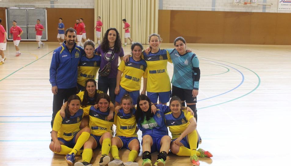 L'equip femení del FutbolPax es proclama campió de la Primera Divisió