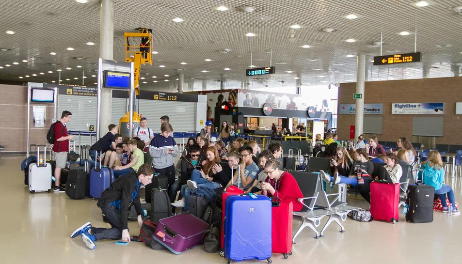 L'Aeroport tanca el març amb un 6% més de passatgers que al 2015