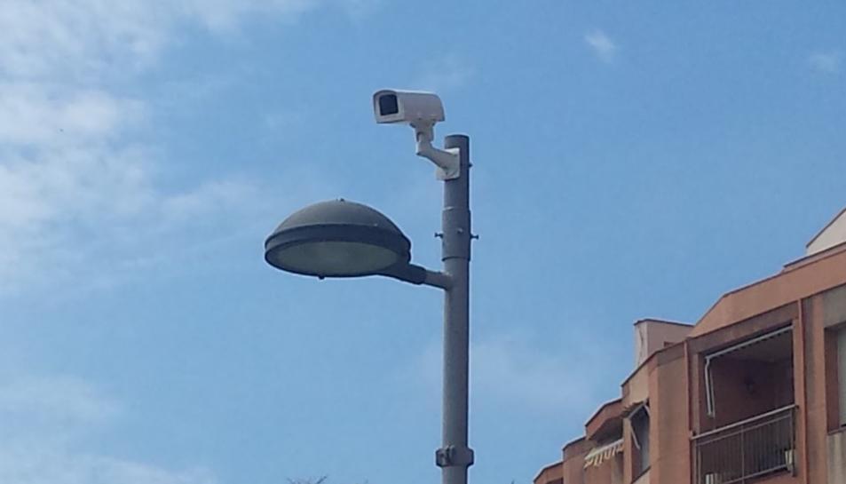 La Part Baixa de Tarragona ja té instal·lada la primera càmera de videovigilància