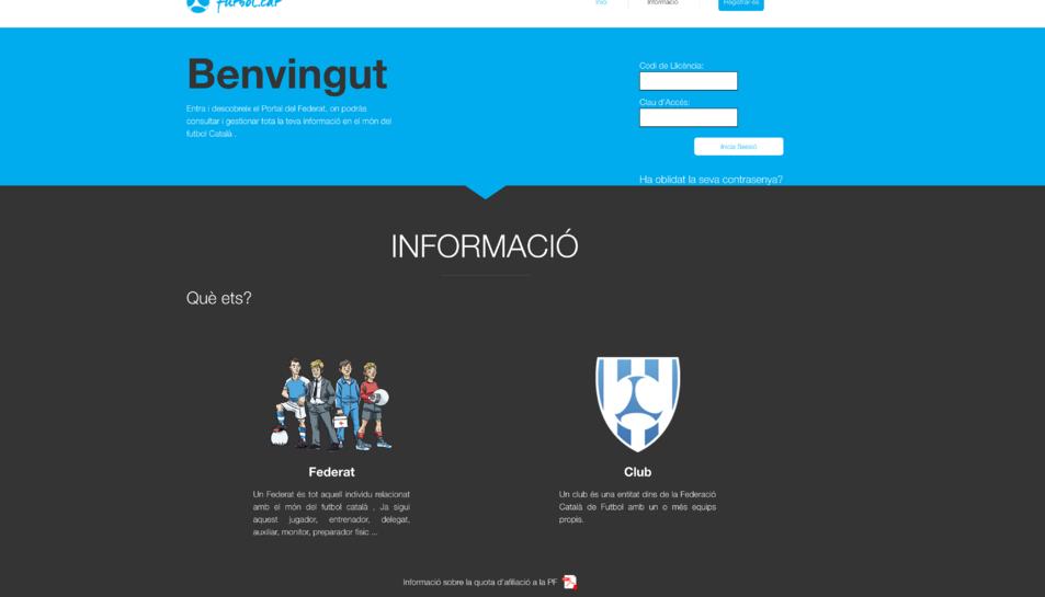 La Federació Catalana posa en marxa l'aplicació del Portal del Federat