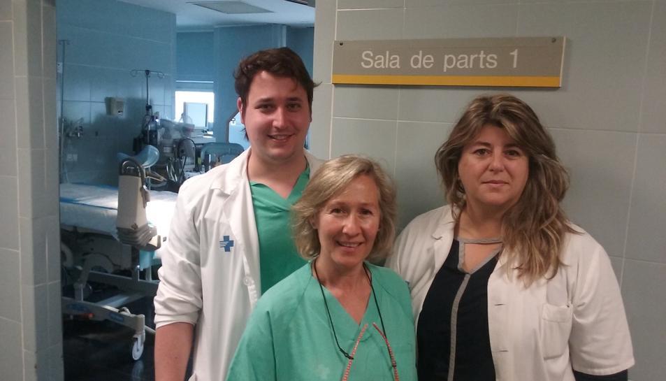 El Servei de Ginecologia i Obstetricia de l'Hospital Joan XXIII duu a terme una nova tècnica per evitar les cesàries