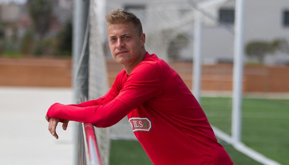«Feia quatre anys que no marcava un gol i estic content que hagi valgut una victòria»