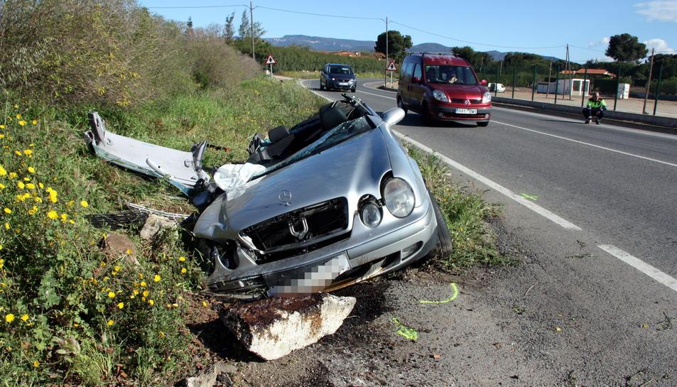 Accident mortal a la carretera de Reus a Cambrils