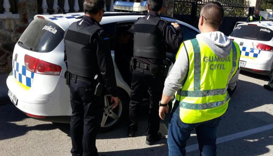 Dos detinguts en una operació antidroga a Calafell