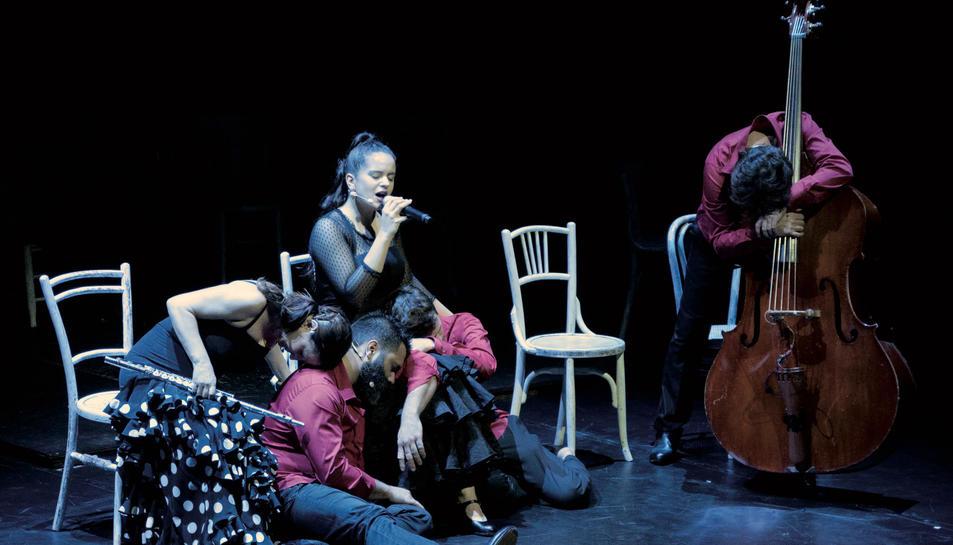 L'espectacle musical 'Flamenkids' al Teatre Auditori del Morell