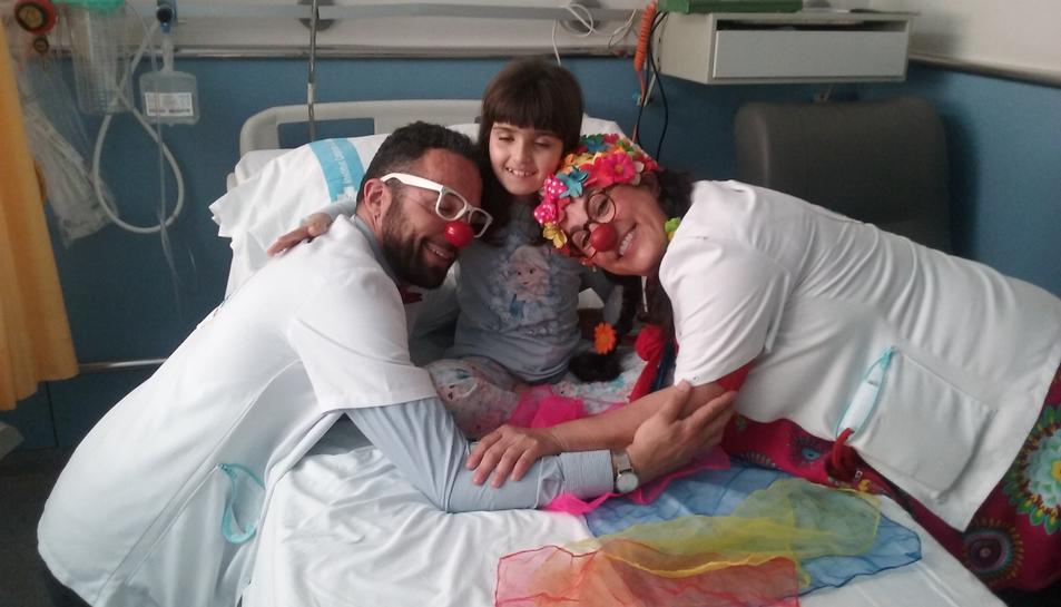 L'ONG Pallapupas alleugera l'estada dels nens i nenes ingressats a l'Hospital Joan XXIII