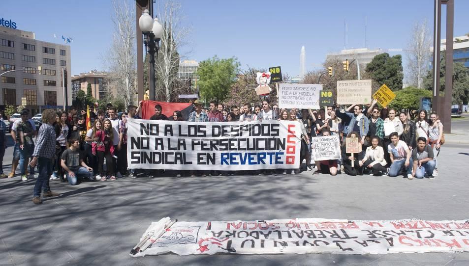 150 estudiants es manifesten contra el 3+2 a Tarragona