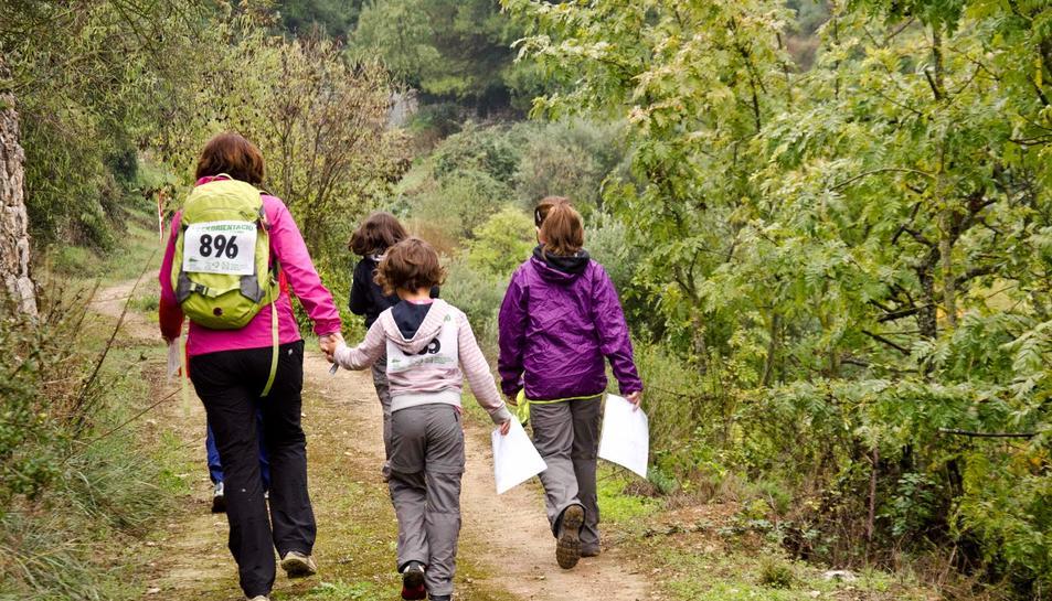El Bosc de Poblet acull la prova de Trekorientació 2016