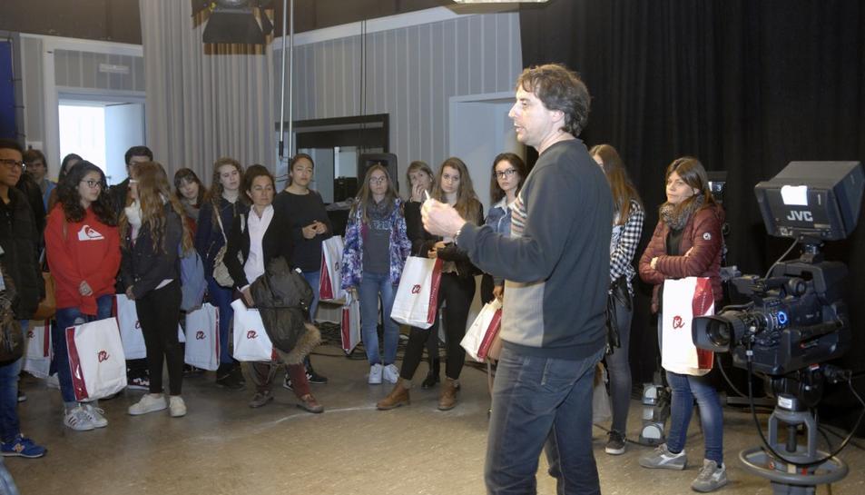 645 joves visiten la URV en la segona jornada de portes obertes