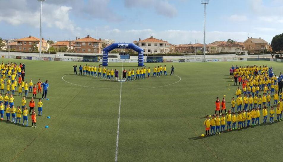 El Club de Futbol Vila-seca presenta els equips de la temporada 2015-2016