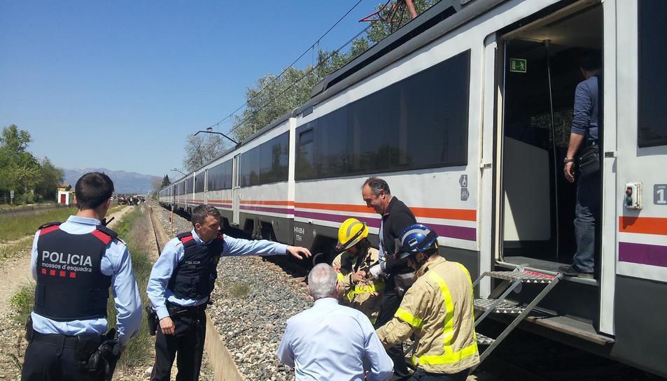 La circulació entre l'Aldea i Tortosa segueix interrumpuda