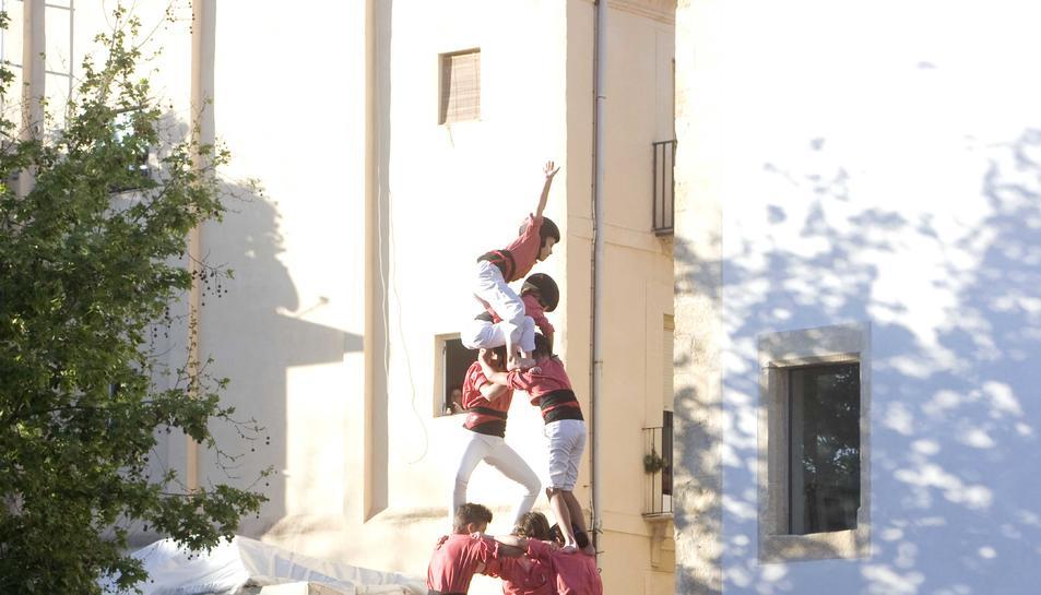 3d8 de la Colla Vella dels Xiquets de Valls