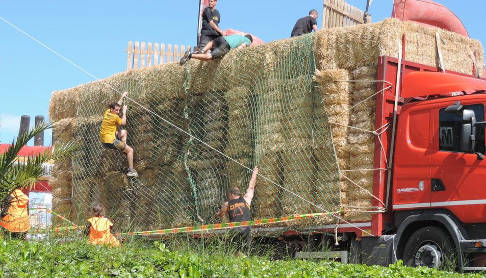 Els participants han hagut de superar obstacles.