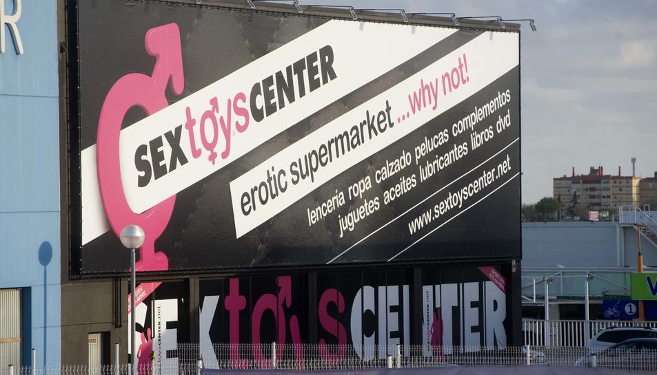 Un gran supermercat de productes eròtics s'instal·la a Tarragona