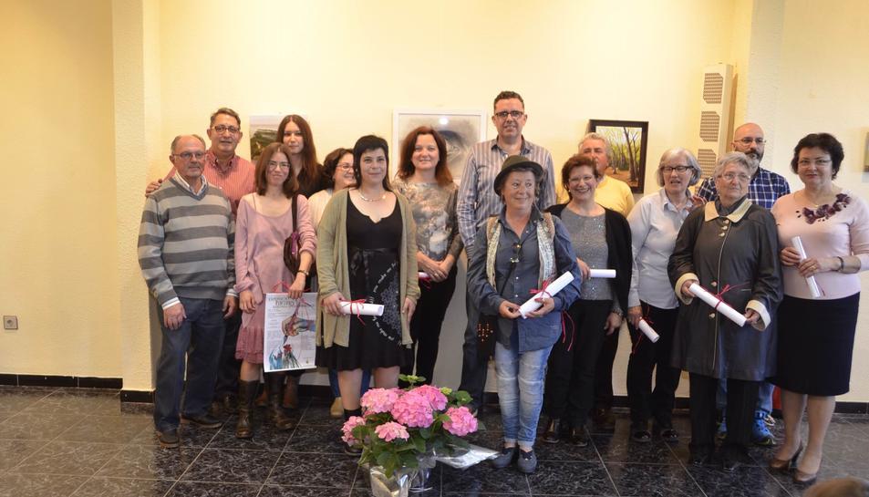 La Baronia d'Escornalbou inaugura una exposició de 12 pintors de la zona