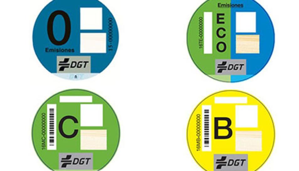 La DGT etiquetarà els vehicles en funció del grau de contaminació