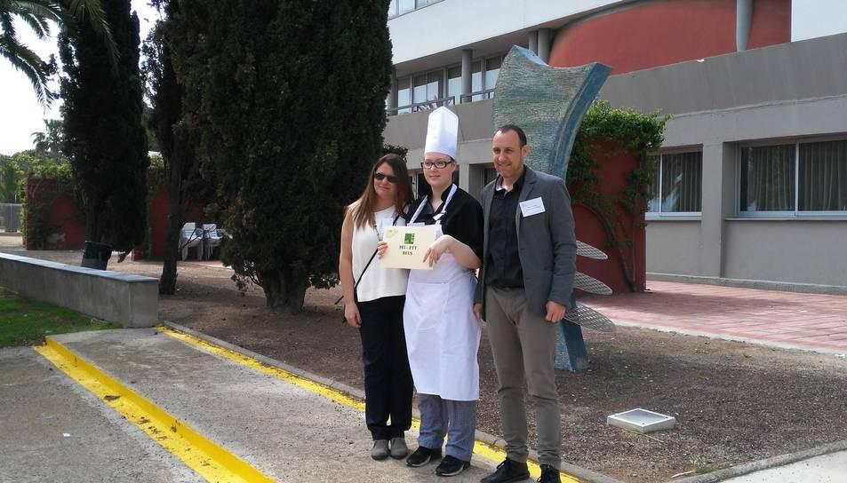 Una alumna del PTT Mas Carandell guanya el Concurs Gastronòmic de l'escola d'Hoteleria i Turisme de Cambrils
