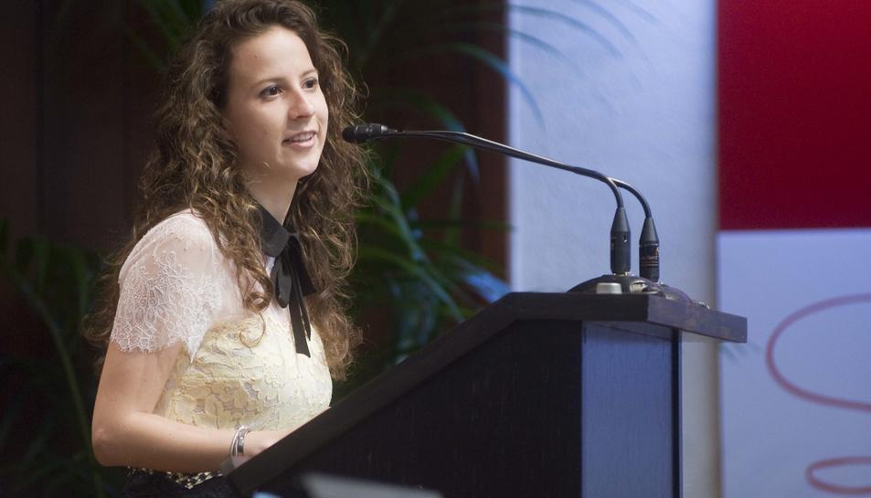Lorena Chesa guanya el 38è Premi Dow