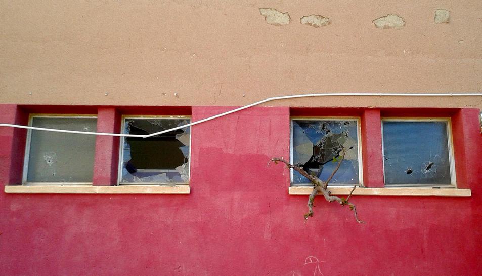 Investiguen les destrosses provocades per actes vandàlics a l'escola Pau Casals