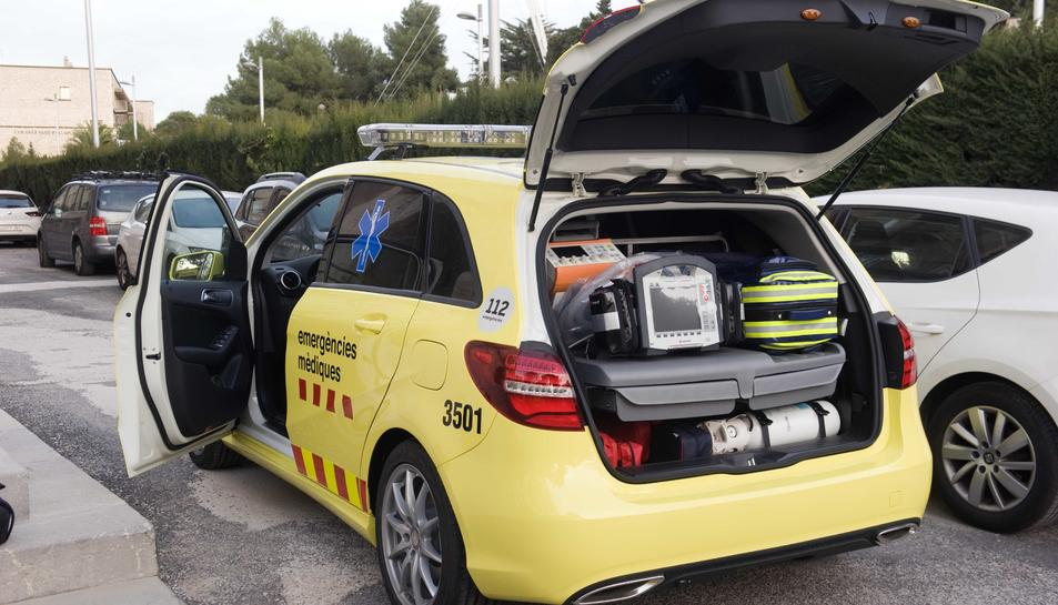 Els veïns de Sant Pere i Sant Pau emprendran accions per recuperar l'ambulància