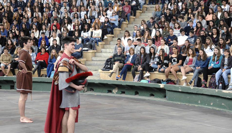 El Festival de Teatro Grecolatino trae los clásicos a Tarragona