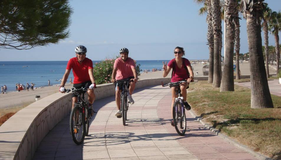 Mont-roig i Miami, connectats amb un carril bici