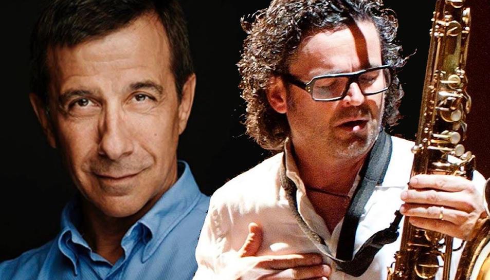 Recital poètic amb música de Jordi Boixaderas i Pep Poblet, al EsguArts d'Alcover
