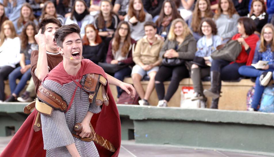 Comèdies i tragèdies grecollatines captiven 4.000 joves a Tarragona