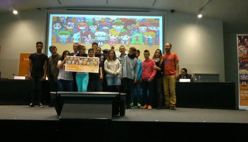 El Col·legi Sant Rafael ha estat premiat al concurs de contes Consum 2016
