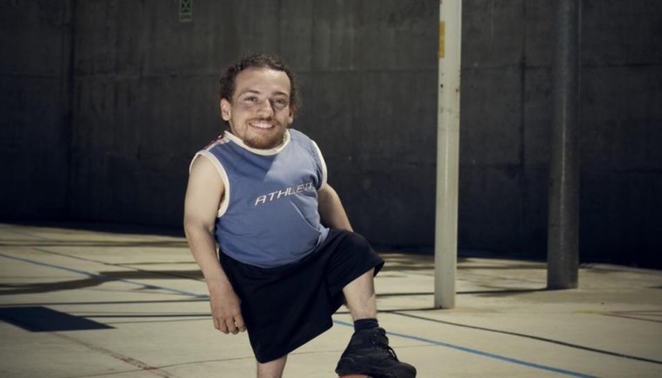 Joan Pahisa, un petit gran esportista
