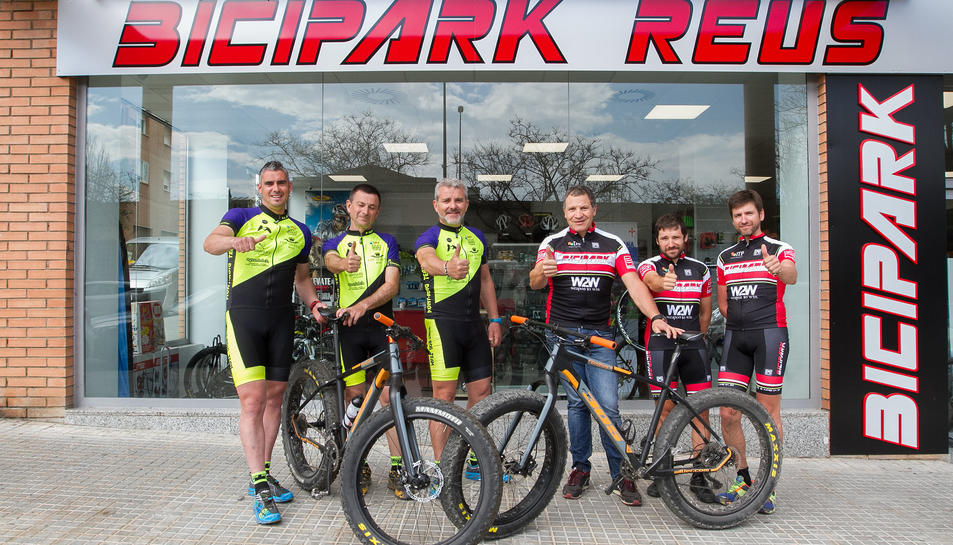 L'equip Bicipark Reus es prepara per tornar a la Titan Desert