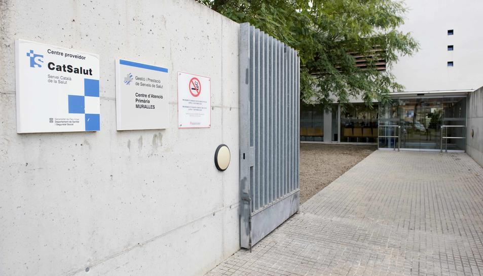 Entrada del Centre d'Atenció Primària Muralles.