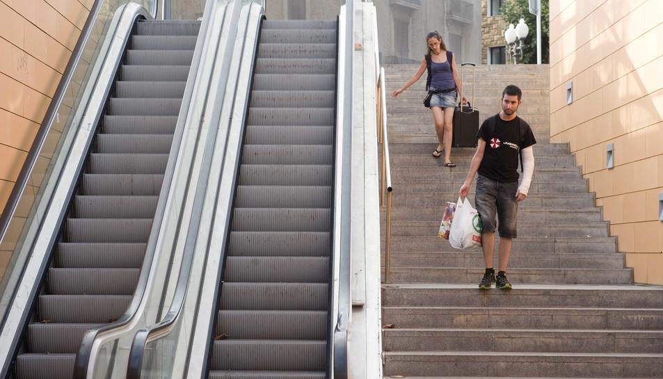 L'Ajuntament invertirà 55.000 euros per arrenjar les escales de la Plaça dels Carros
