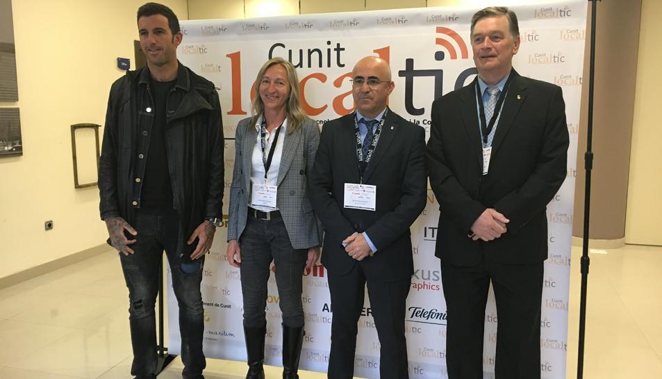 Cunit dóna el tret de sortida del primer Congrés Local de Tecnologies de la Informació i la Comunicació
