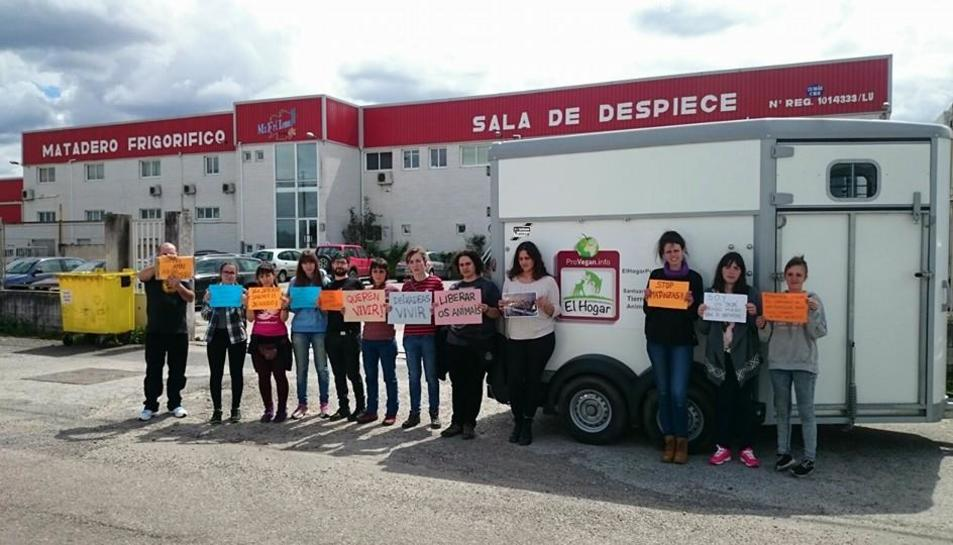 Tarragona també es mobilitza per salvar les vaques de Chantada